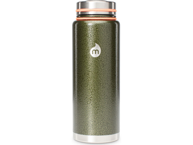 MIZU V12 Insulated Bottle with V-Lid 1200ml army green hammer paint